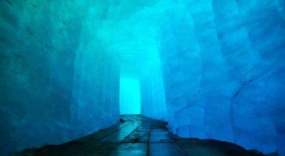 Rhone glacier – ice cave