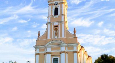Szekszárdi Béla király templom.