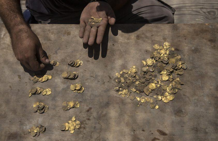 Az iszlám korai időszakából való érmék kerültek elő
