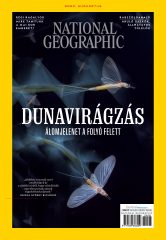 National Geographic 2020. augusztusi címlap