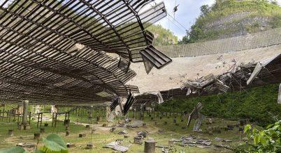 Leszakadó kábel rongálta meg az Arecibo Obszervatóriumot