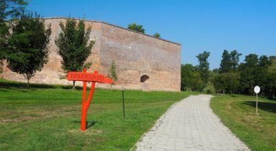 Emlékerdő a Zrínyi vár mellett