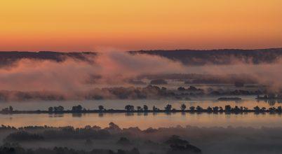 A nap képe: Napkelte a Kis-Balatonnál.