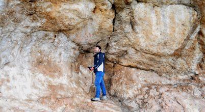 Ujjnyomok alapján vizsgáltak barlangrajzokat