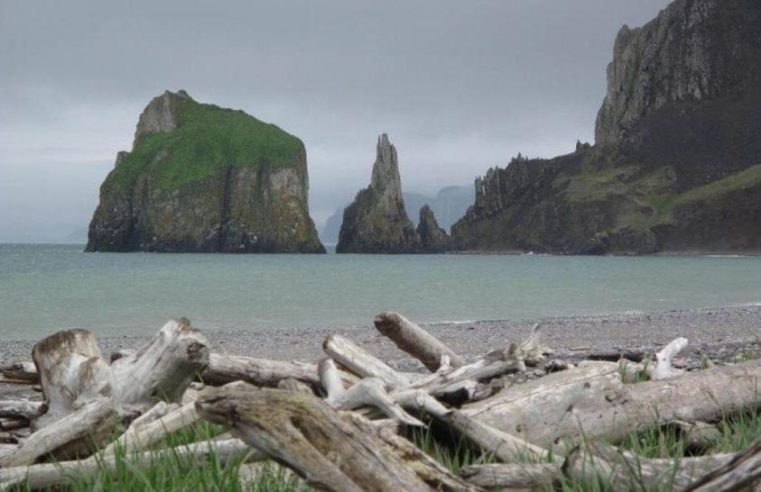 Egy alaszkai sziget vall a Bering-tenger régi jégborításáról