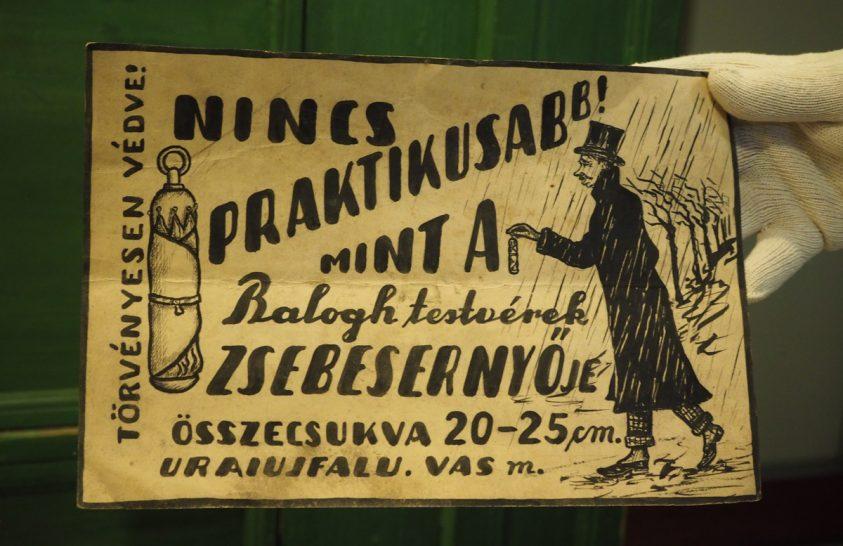 Az összecsukható ernyő története egy kis magyar faluban kezdődött