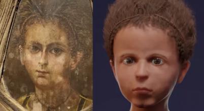 Rekonstrukció igazolja, hogy pontos portré született az ókori fiúról