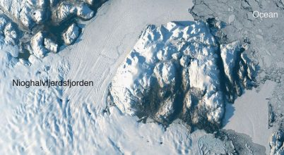 Óriási darab vált le egy grönlandi selfjégből