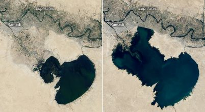 Emelkedett a vízszint Irak tavaiban