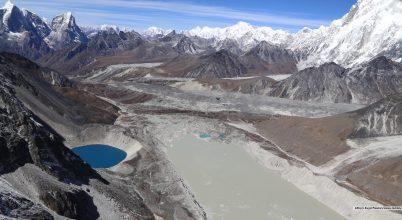 Nagyon gyorsan növekednek a gleccsertavak, 1990 óta