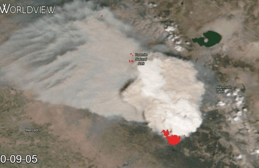 Hazánkat is elérte a kaliforniai tűzvész füstje