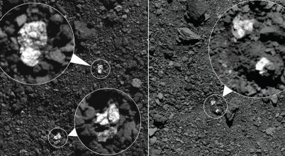 Hogyan kerülhettek a Vesta darabjai egy másik aszteroidára?