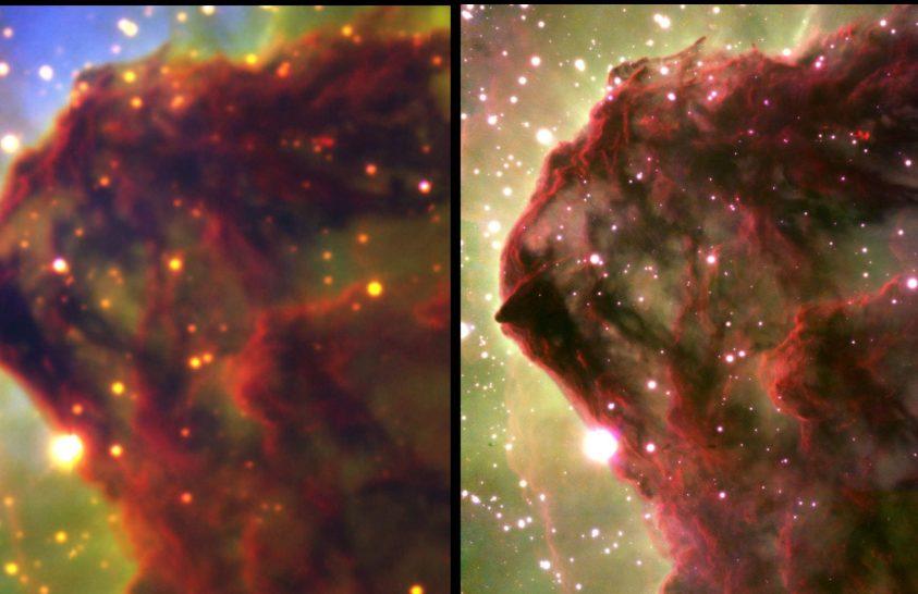 Lenyűgöző felbontásban látható a csillagok születése