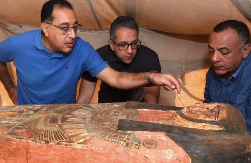 Újabb érintetlen szarkofágok kerültek elő Szakkaránál