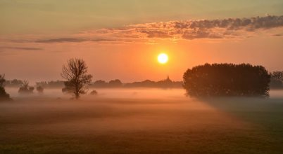 A nap képe: Ködös reggel