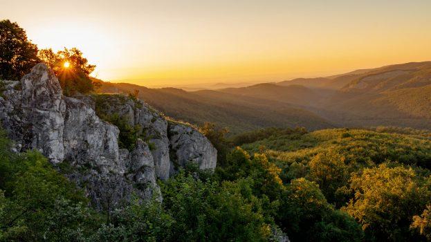 A nap képe: Hajnali sugarak