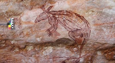 Ősi barlangrajzokat találtak Ausztráliában