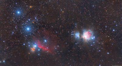 2020. október asztrofotója: Barangolás az Orionban