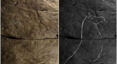 Őskori sziklavéseteket találtak Spanyolországban
