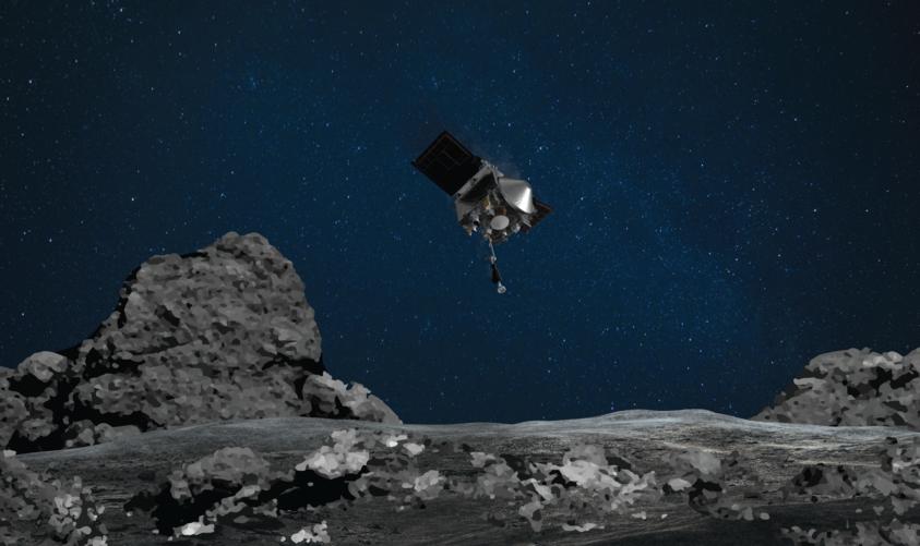Lezajlott a mintagyűjtő manőver a Bennu kisbolygón