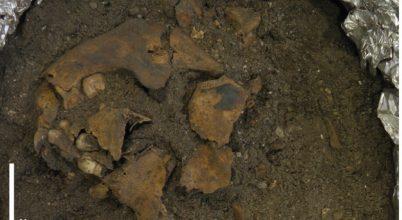 Egy nyolcezer éves gyermeksírra bukkantak