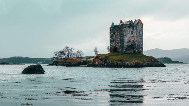 A nap képe: Castle Stalker, Skócia