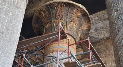 Megelevenednek egy ókori templom színei