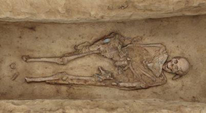Avar kori temetőre bukkantak egy veszprémi útépítésen