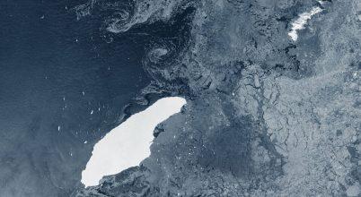 Egy sziget felé tart a legnagyobb jéghegy