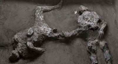 Együtt halt meg úr és rabszolgája Pompejiben