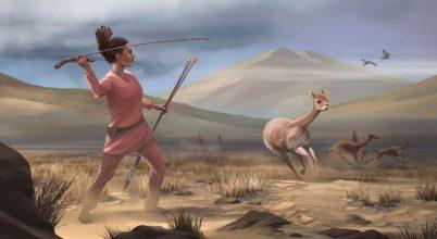 Őskori vadásznő maradványaira bukkantak