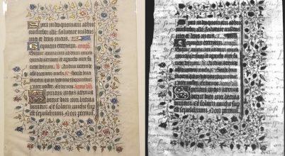 Rejtett írást találtak egy középkori iraton
