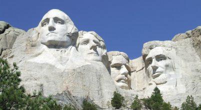 Mennyi idő alatt kopnak el a Mt. Rushmore kőarcai?