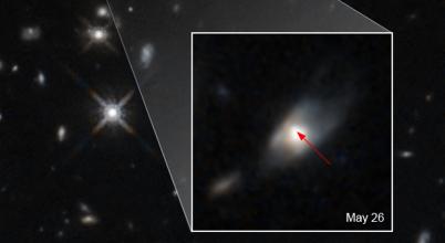 Óriási robbanást figyelt meg a Hubble