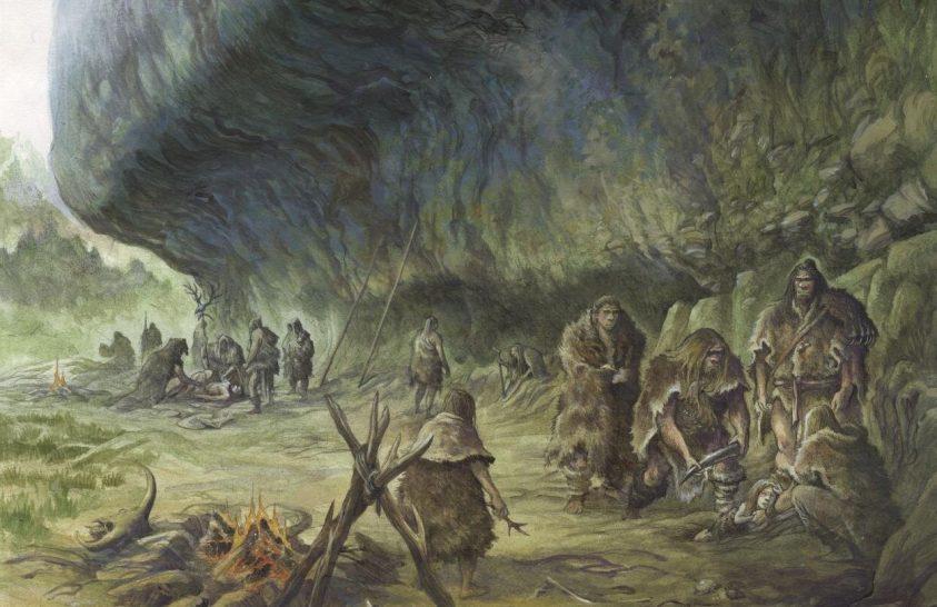 Bizonyíték arra, hogy a neandervölgyiek is eltemették halottaikat