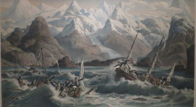 Rejtélyes áradás egy alaszkai öbölben