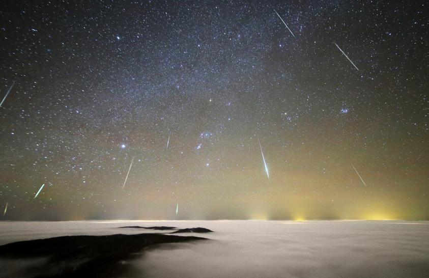 2020. december asztrofotója: Geminida meteoreső