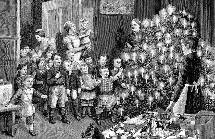 Karácsonyi ajándékozás a 19. századi városi polgárságban