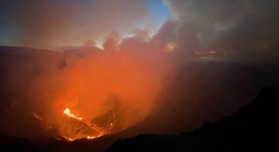 Két év után kitört a Kīlauea