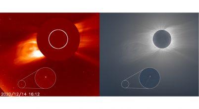 Megismételhetetlen fotót készített egy amatőrcsillagász egy üstökösről