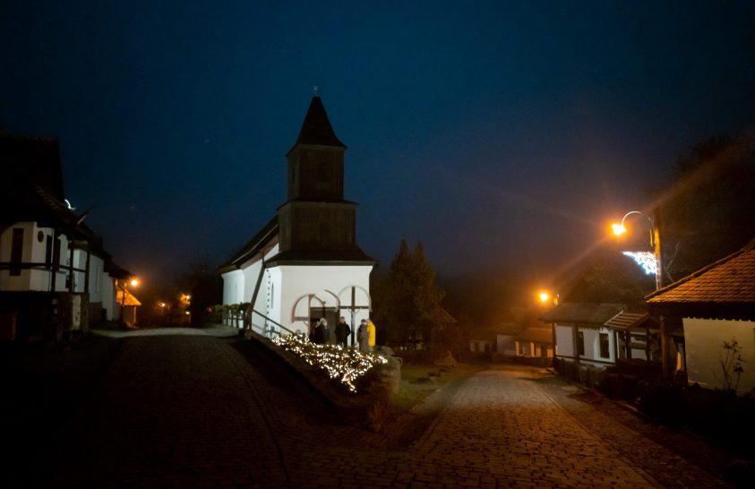 Téli esték csöndje a híres nógrádi faluban