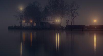 A nap képe: Ködös móló