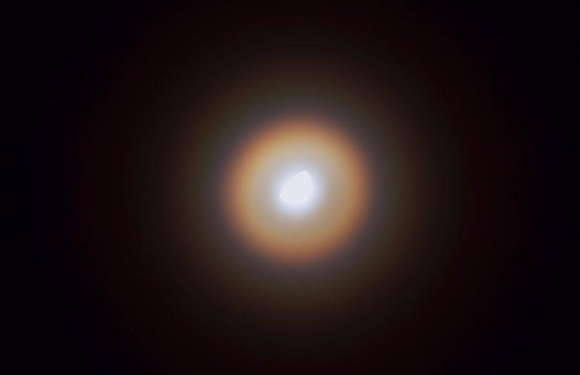 A nap képe: Holdkoszorú