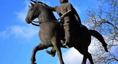 Szent István lovasszobra, Győr