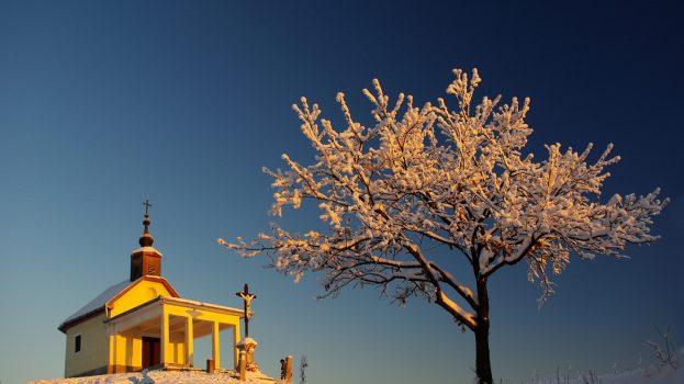 A nap képe: Téli áhítat