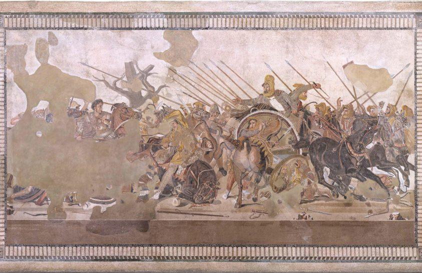 Az antik világ egyik legjelentősebb mozaikja újul meg