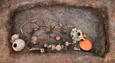 Együtt temették el a kisgyermeket és a kölyökkutyát