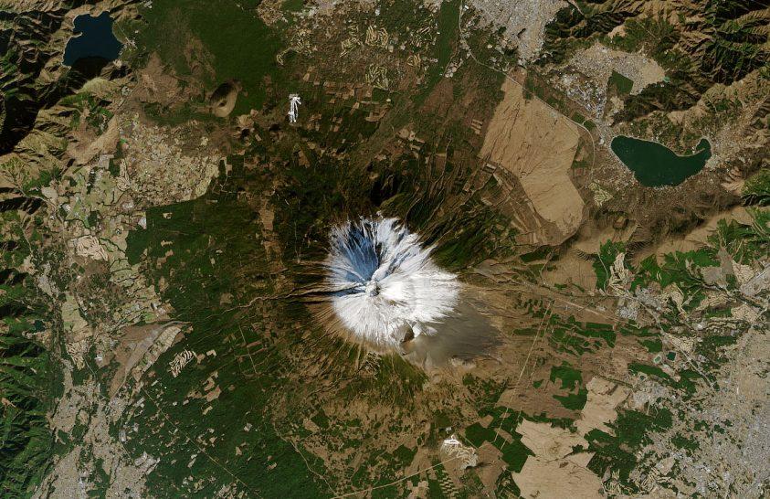 Vulkánok az űrből