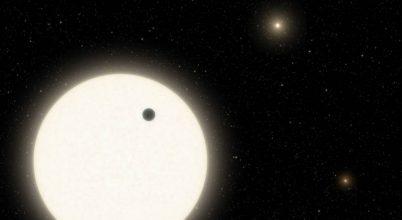 Ennek a bolygónak három csillaga is van