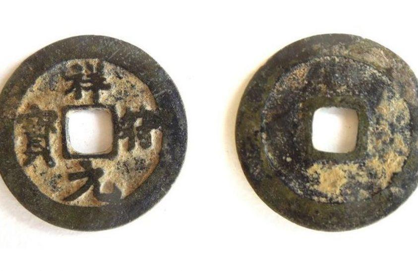 Kora középkori kínai érmét találtak Angliában